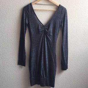 Shimmery body-con dress